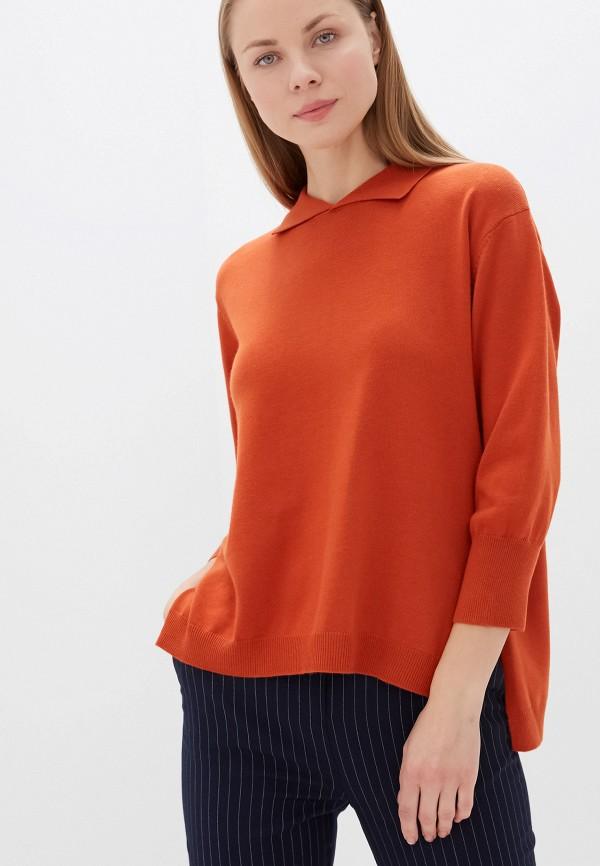 женский джемпер unq, оранжевый