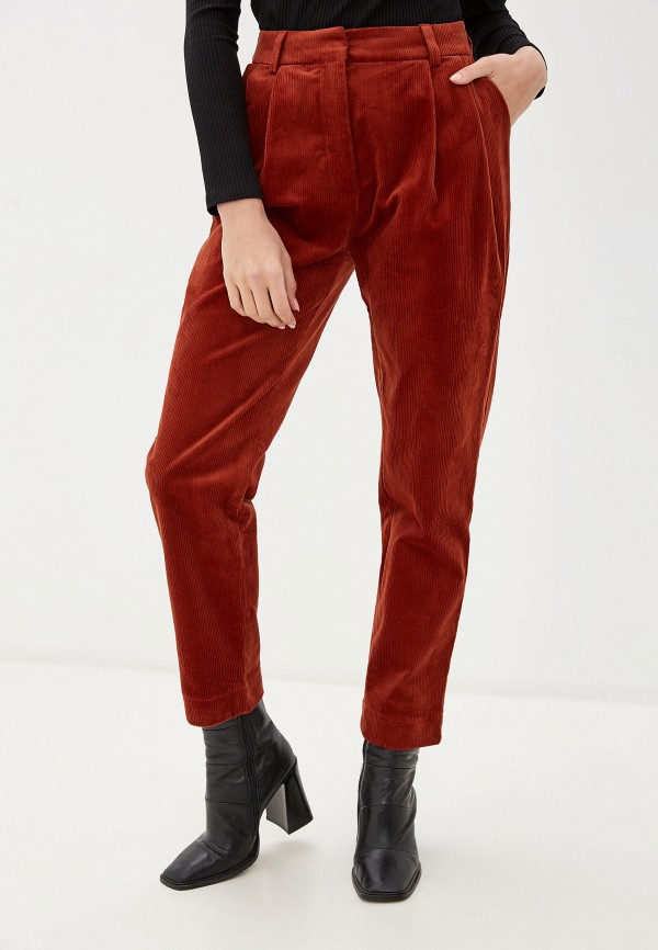 женские брюки unq, оранжевые