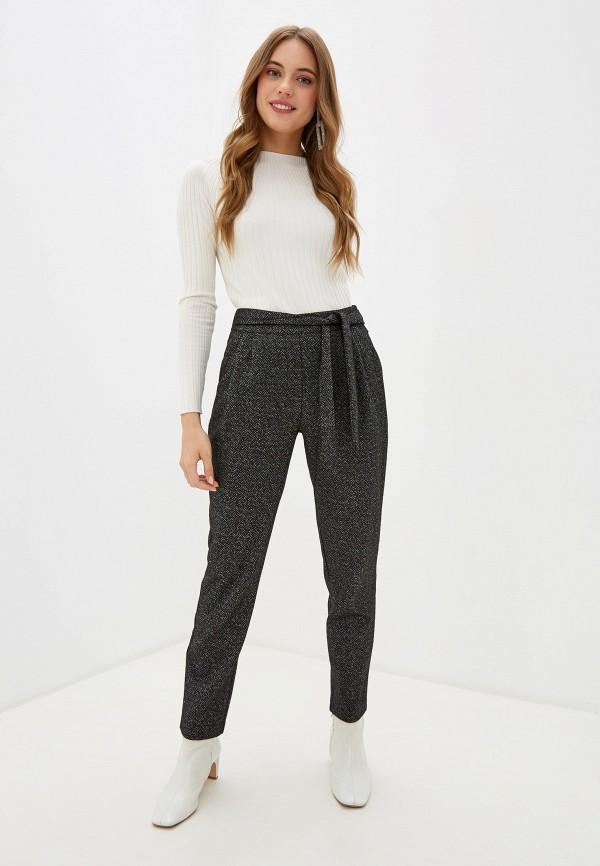 Фото 2 - женские брюки UNQ серого цвета