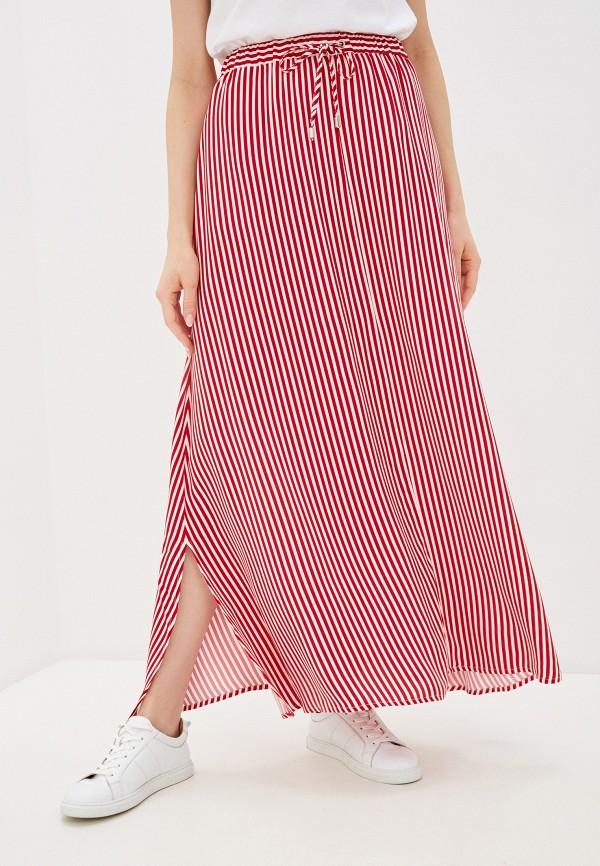 женская юбка-трапеции unq, красная