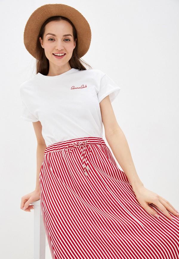 женская футболка unq, белая