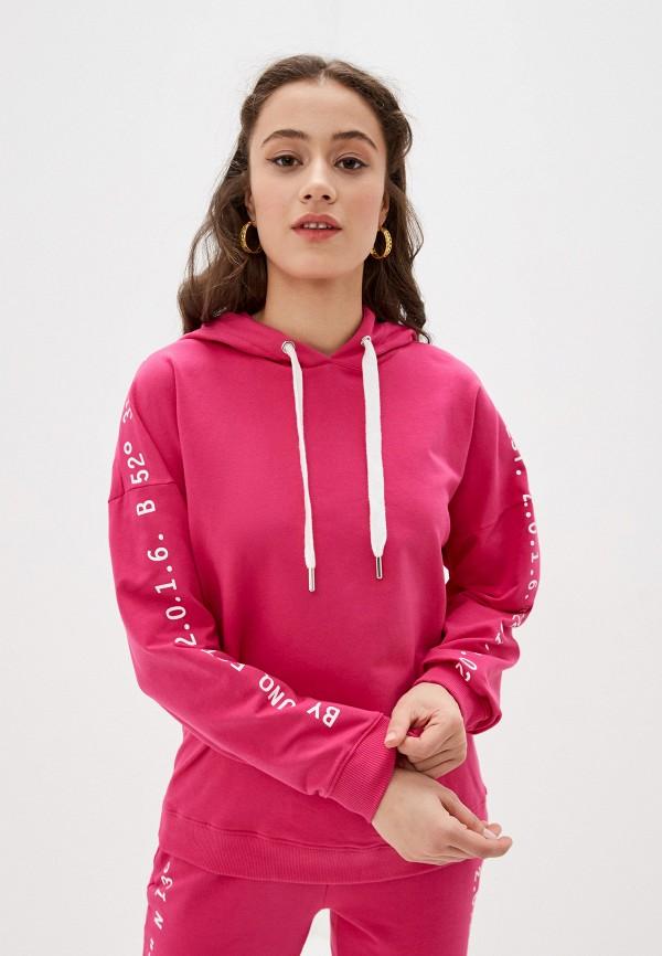 женские худи unq, розовые