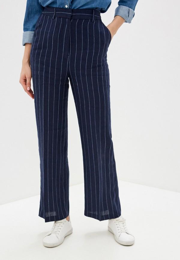 женские повседневные брюки unq, синие