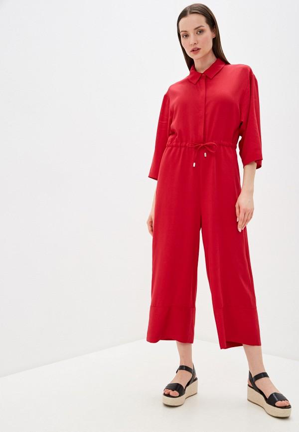 женский комбинезон с брюками unq, красный