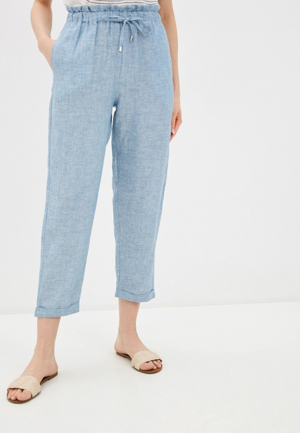 женские повседневные брюки unq, голубые