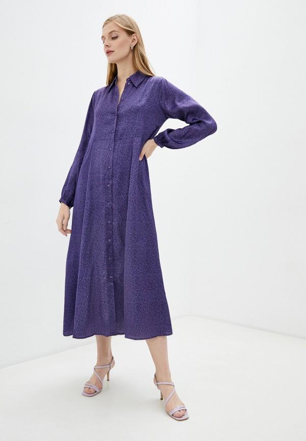 женское платье unq, фиолетовое