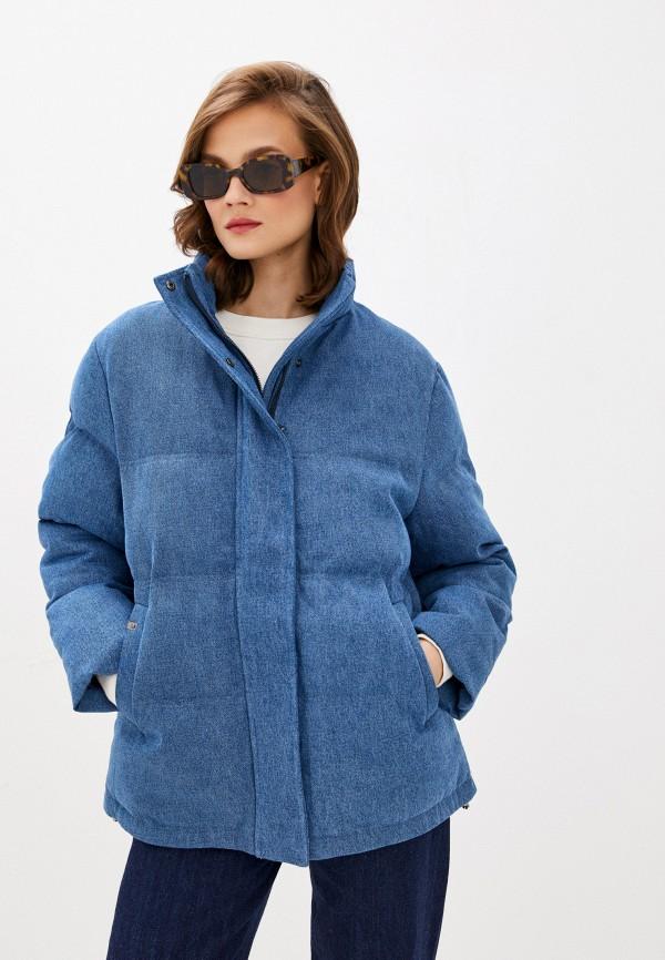 женская куртка unq, синяя