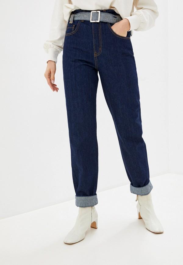женские джинсы unq, синие