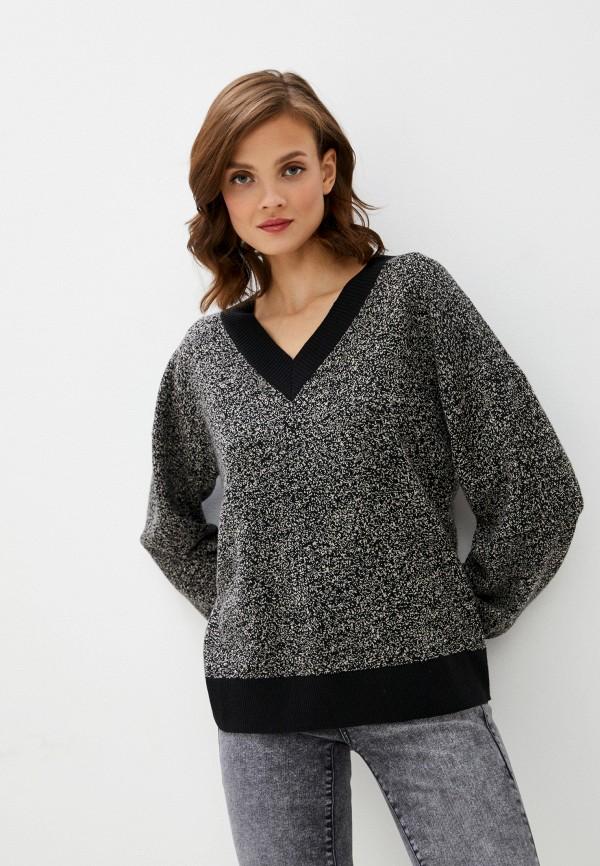 женский пуловер unq, серый