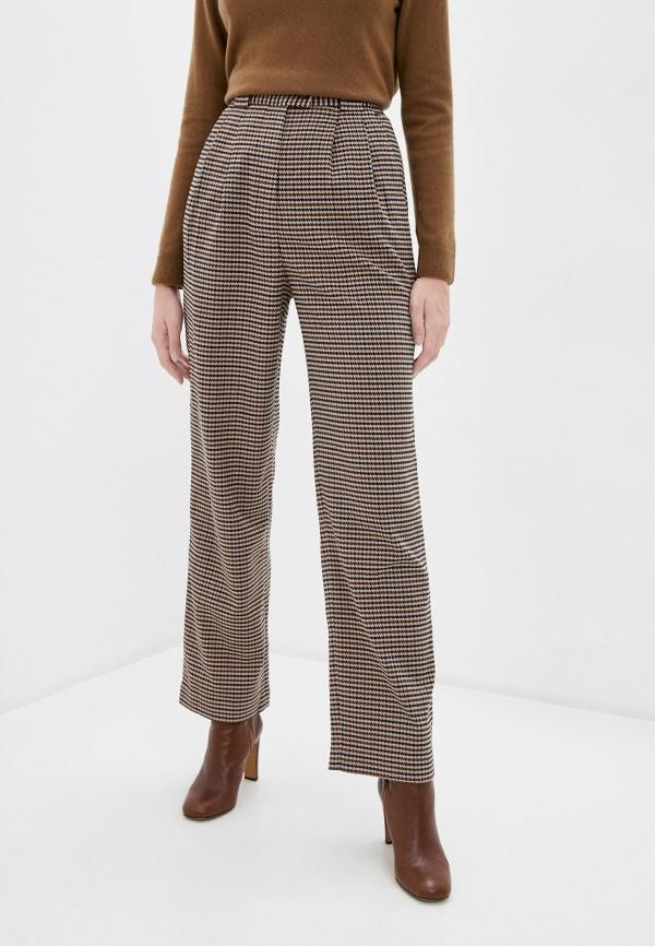 женские классические брюки unq, коричневые