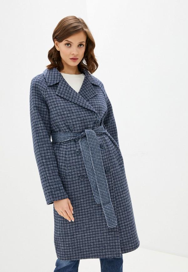 женское пальто unq, синее