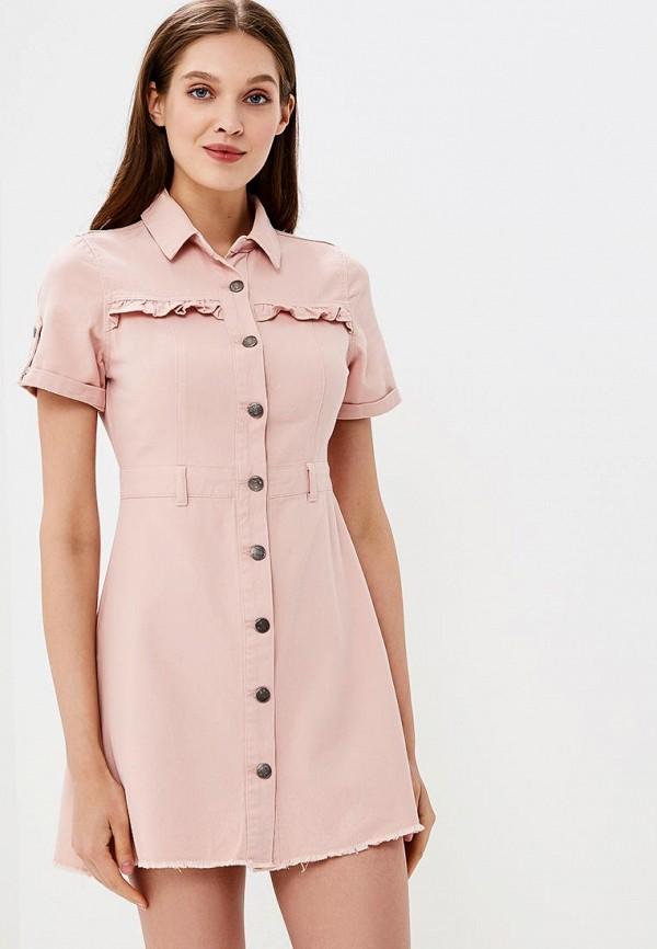 Платье джинсовое Urban Bliss Urban Bliss UR007EWBPZY2 блуза urban bliss urban bliss ur007ewbjza9