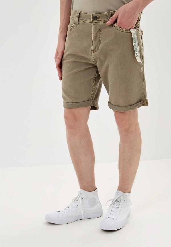 мужские повседневные шорты urban surface, бежевые