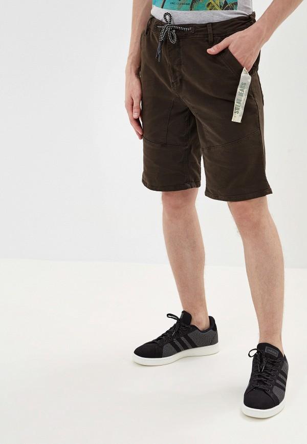 мужские повседневные шорты urban surface, коричневые