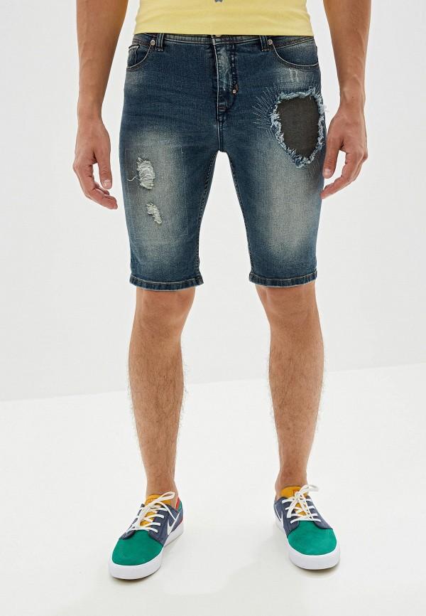 мужские джинсовые шорты urban surface, синие