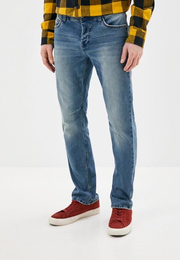 мужские зауженные джинсы urban surface, синие