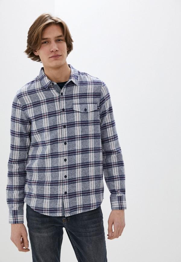 мужская рубашка с длинным рукавом urban surface, синяя