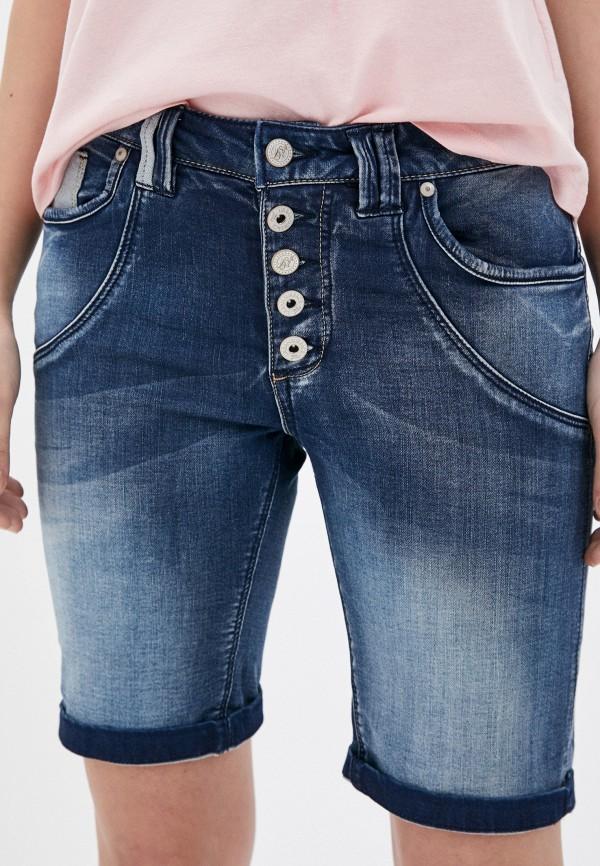 женские джинсовые шорты urban surface, синие