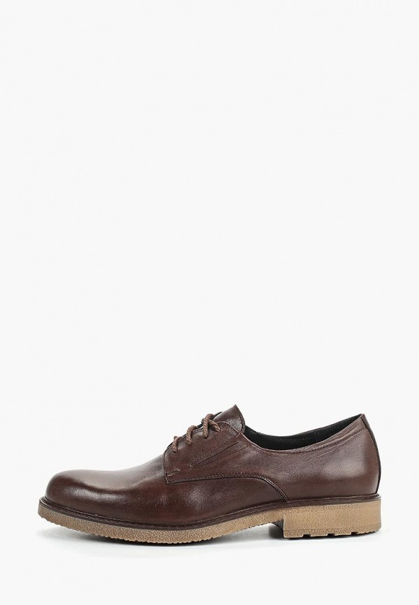 мужские туфли valley, коричневые