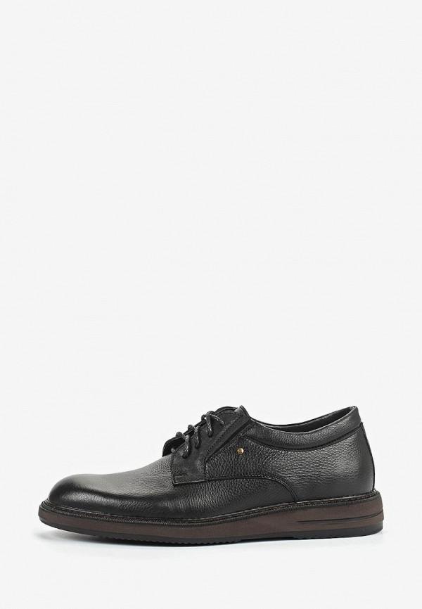 мужские туфли valley, черные