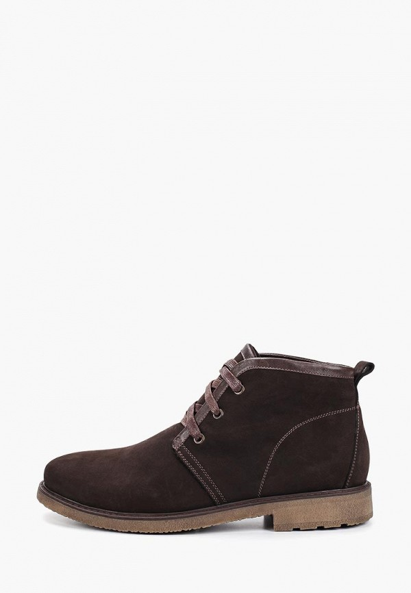 мужские ботинки valley, коричневые