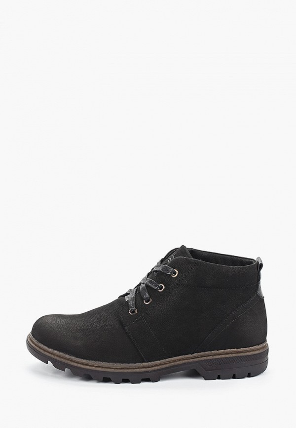 мужские высокие ботинки valley, черные