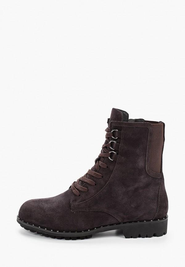 женские ботинки valley, коричневые