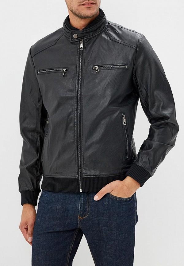 Купить Куртка кожаная Vanzeer, VA016EMCMZM0, черный, Осень-зима 2018/2019