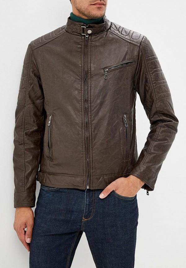 Купить Куртка кожаная Vanzeer, va016emcmzo1, коричневый, Осень-зима 2018/2019