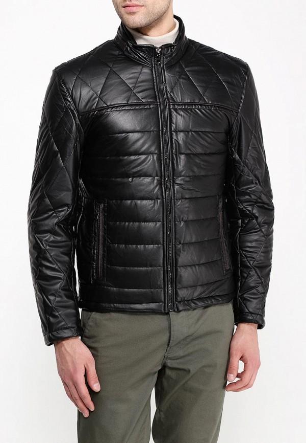 Купить Куртка кожаная Vanzeer, va016emqoe66, черный, Осень-зима 2018/2019