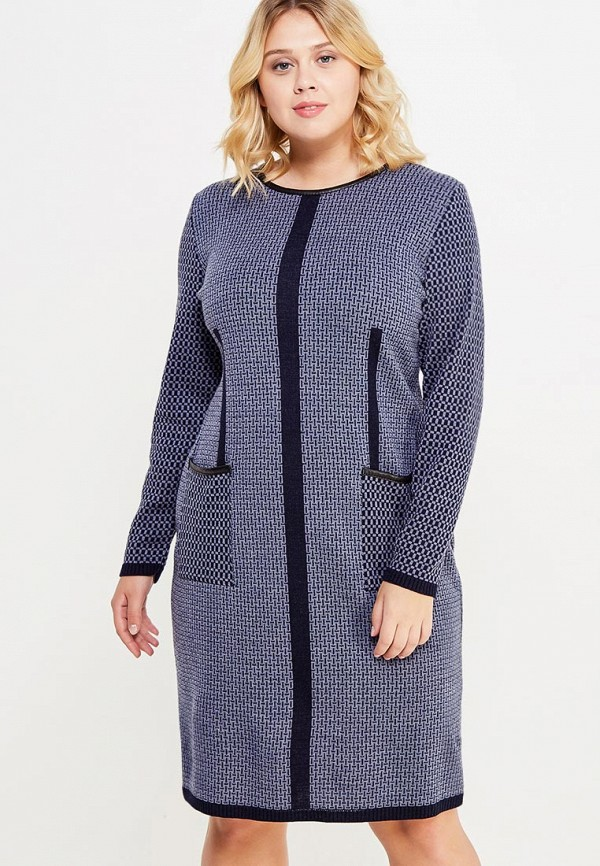 Купить Платье Vay, VA017EWWKR17, синий, Осень-зима 2017/2018