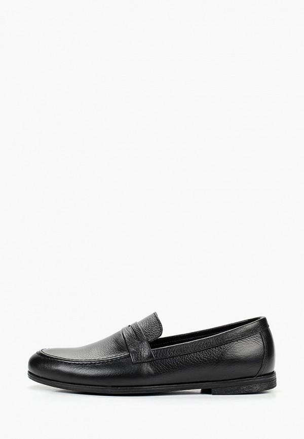 мужские лоферы valser, черные