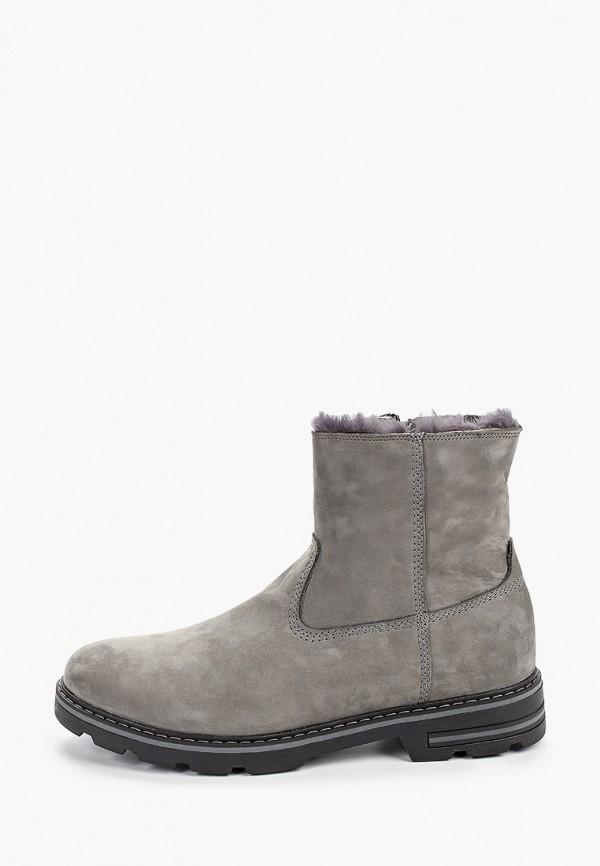 мужские ботинки valser, серые