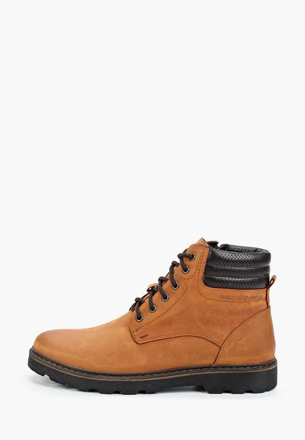 мужские ботинки valser, коричневые