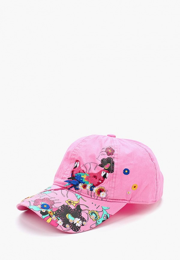 Купить Бейсболка Val Vutti, VA019CWBIIV0, розовый, Весна-лето 2018