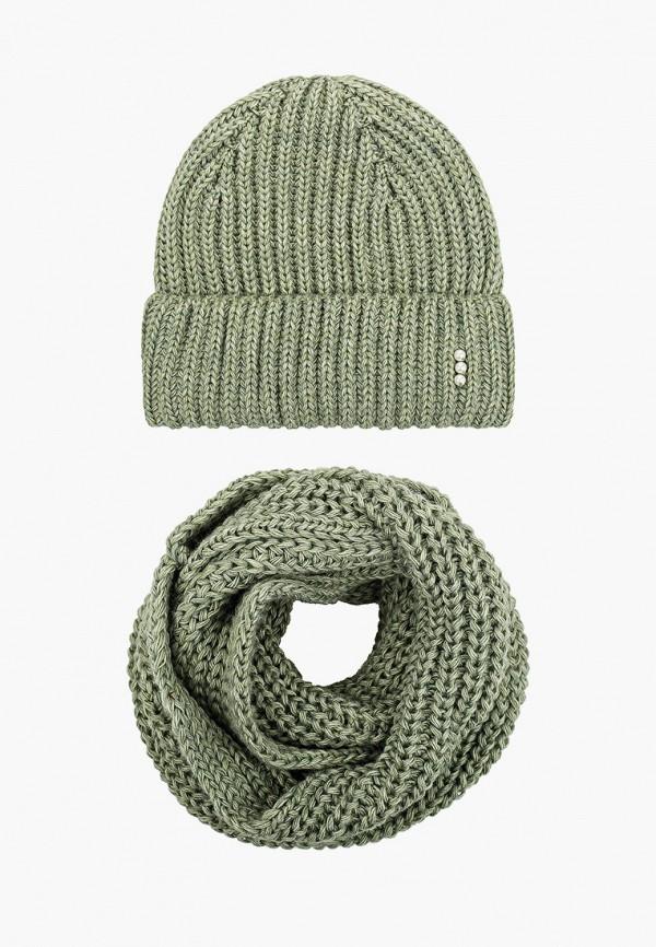 женский шарф val vutti, зеленый