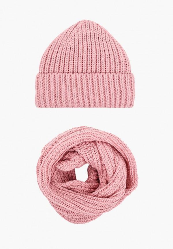 женский шарф val vutti, розовый