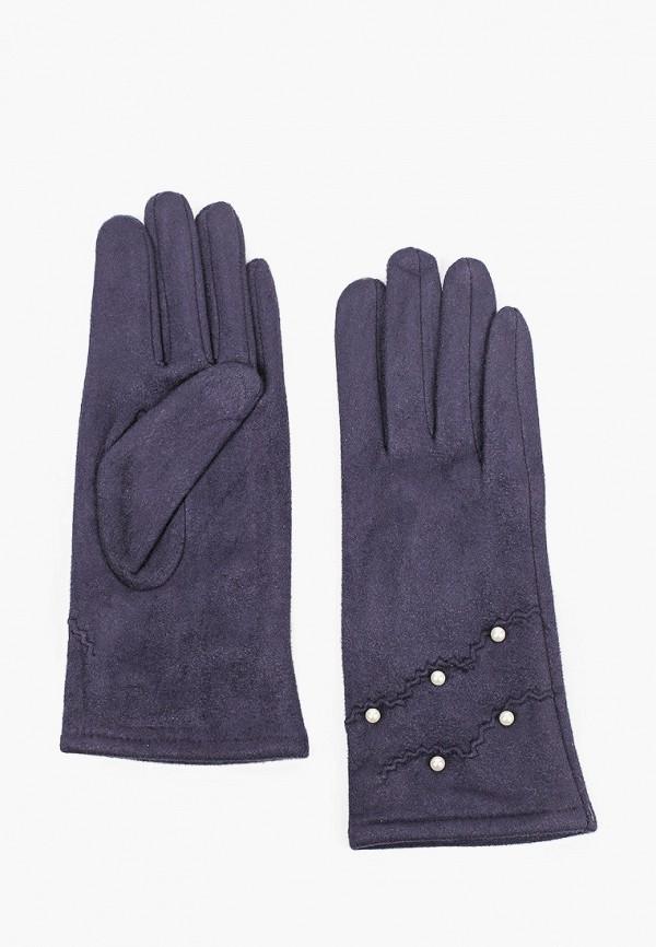 женские кожаные перчатки val vutti, синие