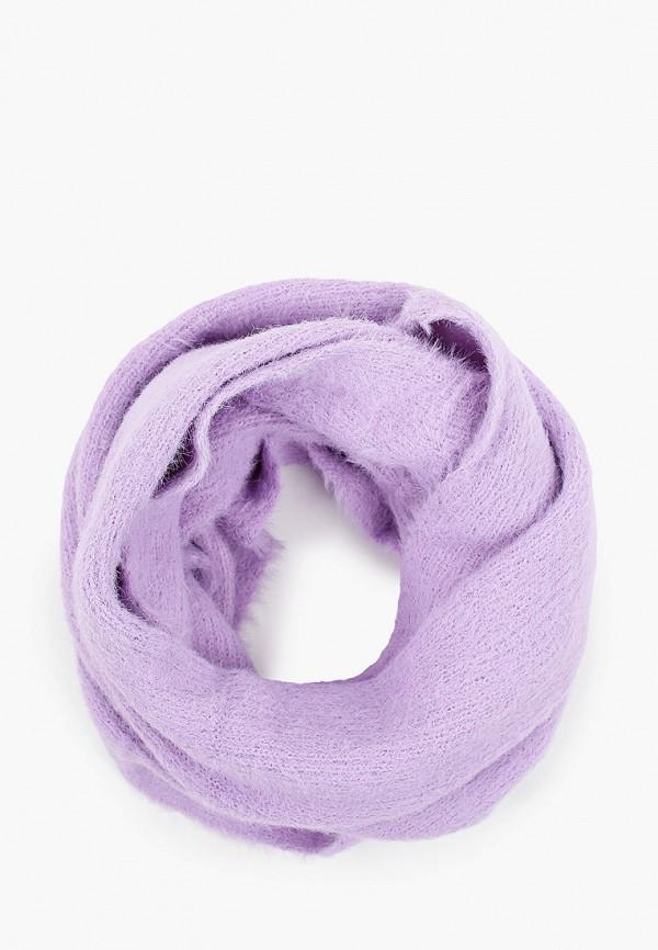 женский снуд val vutti, фиолетовый