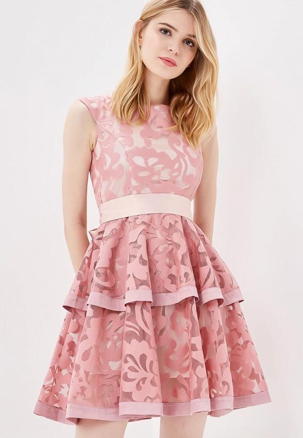 Фото - Женское вечернее платье Vagi розового цвета