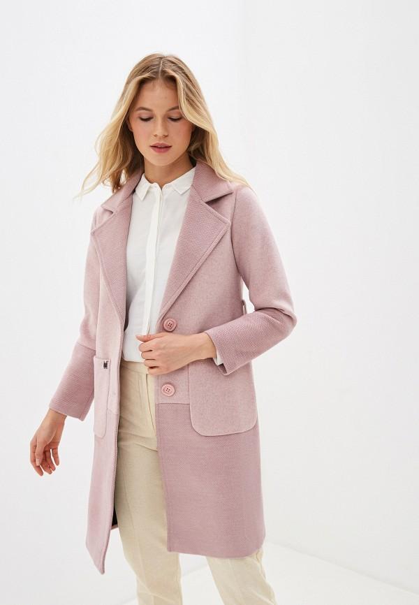 Фото - Женское пальто или плащ Vagi розового цвета