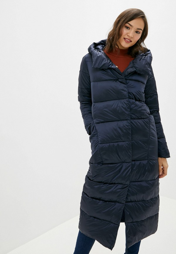 Фото - Куртку утепленная Vagi синего цвета