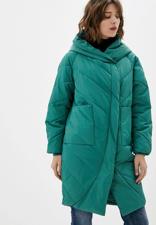 Фото - Куртку утепленная Vagi зеленого цвета