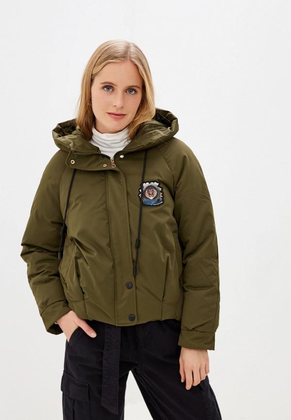 Фото - Куртку утепленная Vagi цвета хаки