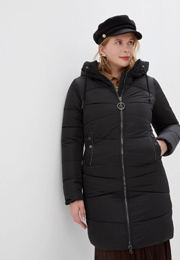 Фото - Куртку утепленная Vagi черного цвета