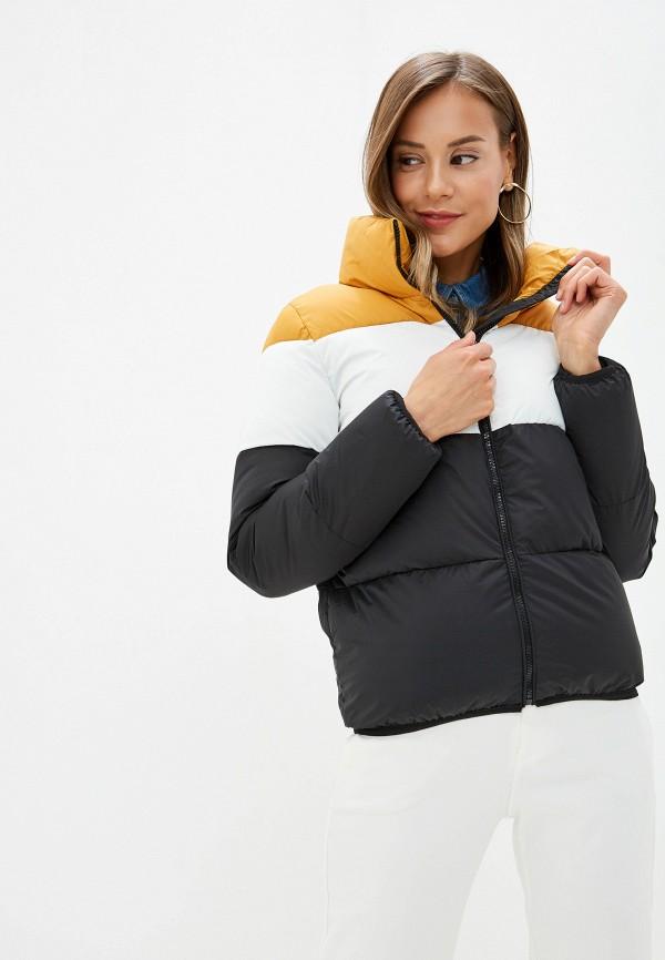 Фото - Куртку утепленная Vagi разноцветного цвета