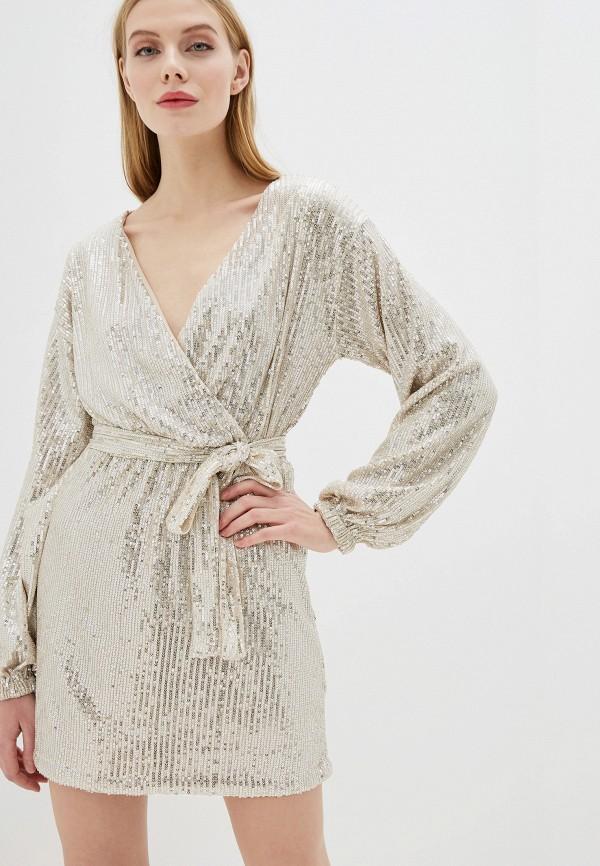 женское вечерние платье vagi, золотое