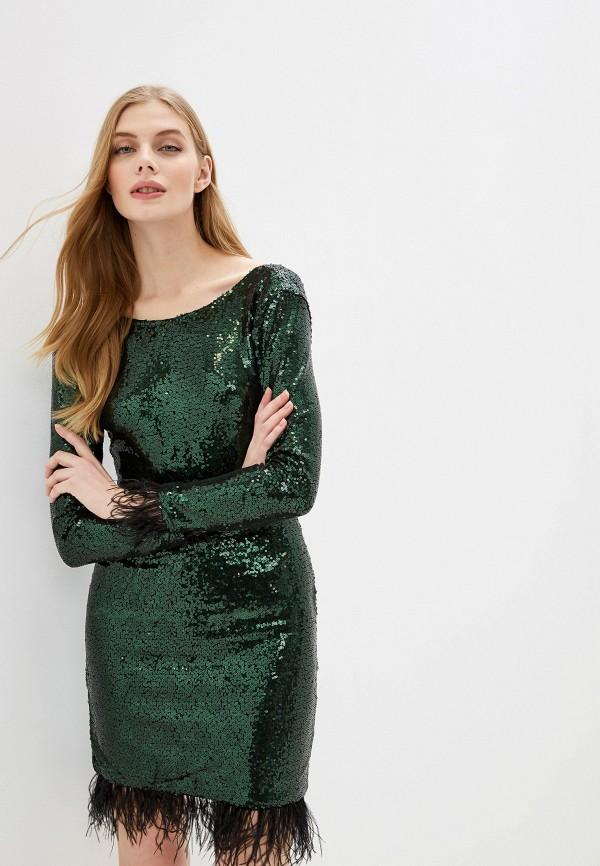 женское вечерние платье vagi, зеленое