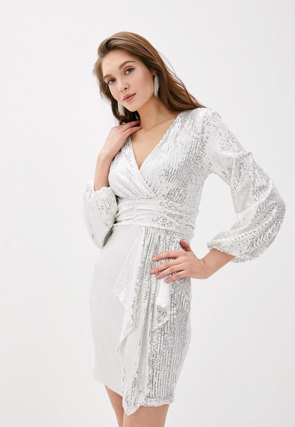 женское вечерние платье vagi, белое