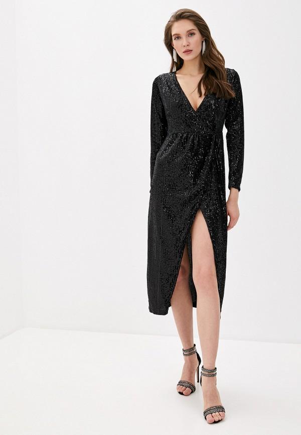 женское вечерние платье vagi, черное